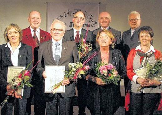 Festakt 40 Jahre Sängergruppe - Kloster Wechterswinkel - 290314