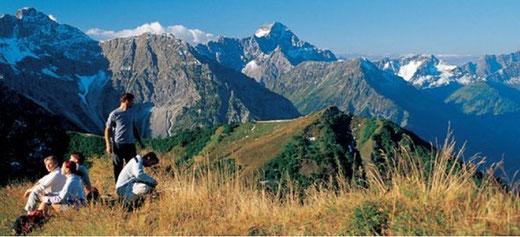 Bergbahn inklusive im Kleinwalserta