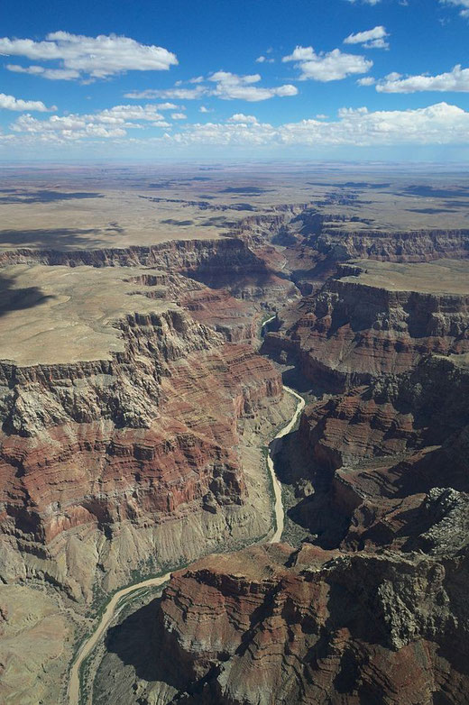 Photographie du Grand Canyon aux USA. Source: wikipédia.