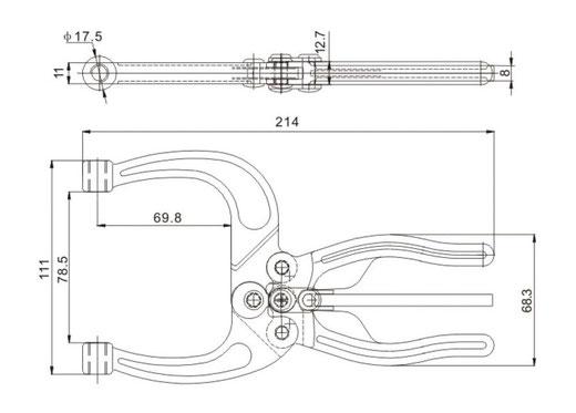 Zeichnung/Masse CH-50450