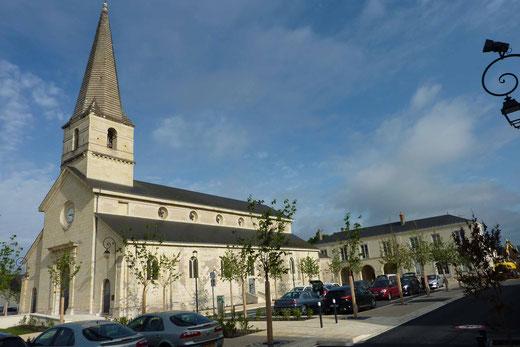 Eglise de St Nicolas de Bourgueil lieu du RdV