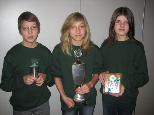 1.Platz 2013 Schüler Neuland I, Lukas Göhlich, Jana Mittelstädt, Ann-Cathrin Raap