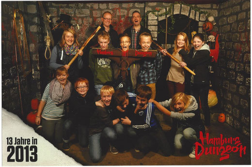 Hamburg Dungeon 2013