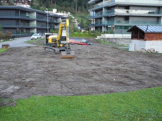 Dienstag, 13. September 2016- Vorarbeiten abgeschlossen.