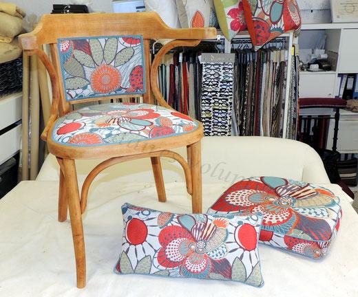 Petit fauteuil de bureau voltaires voluptueux tapissier d corateur - Petit fauteuil de bureau ...