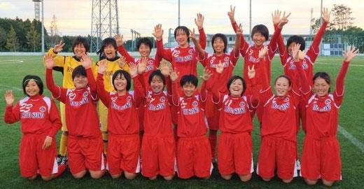 スカラブ 2(0-0)(1-1)(1-0)(0-0)1 vsNGU名古屋FC 2012.11.2 静岡県時之栖にて