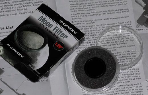 Ảnh kính lọc mặt trăng của HAAC