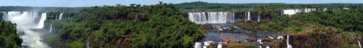 "Iguazu Décembre 2007 - Panorama 1"" von Martin St-Amant"