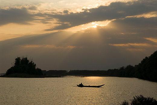 """""""Stienta (Ro) - Il ritorno del pescatore. - di B.BOLCHI"""