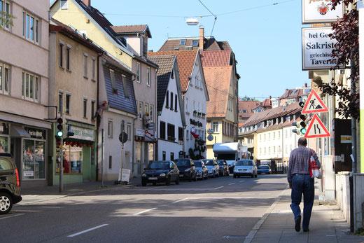 Mit der Villa durch Stuttgart
