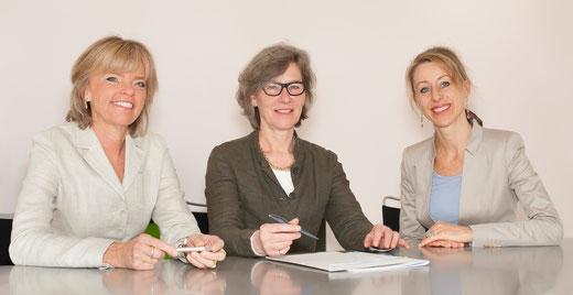 Barbara Feuz, Dorothee Lauper, Nicole Gilgen (v.l.n.r.)
