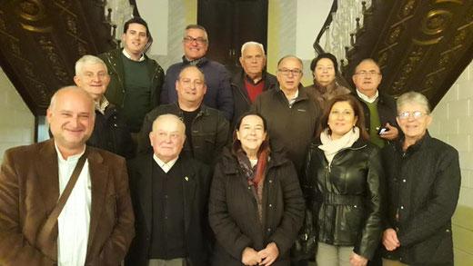 Nueva junta directiva de la Asociación Belenista de Lorca