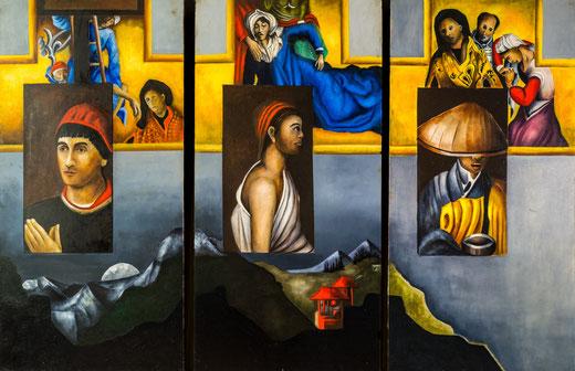 Hommage to Rogier Van Der Weyden,  Prijs 1550 euro inc btw