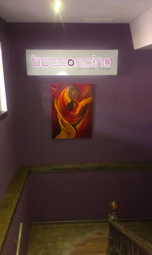 """Flammen"" Bocconcino Ristorante - lounge. Oscar Hernandez-Stewart."