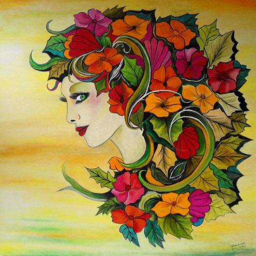 """Flora"" Oscar Hernandez-Stewart."