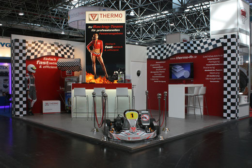 Thermo Feuerungsbau & Klimaplatte24 Messestand Thermprocess 2015