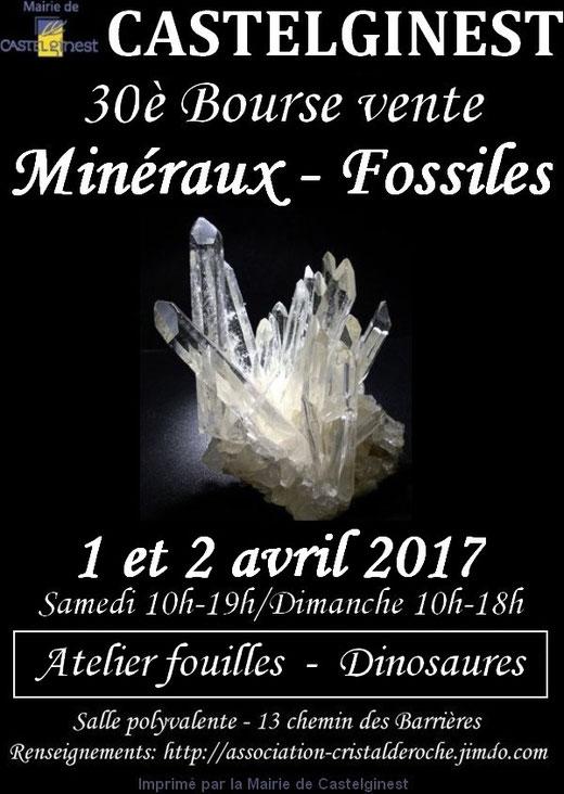 30è Bourse vente : 1 et 2 avril 2017 à la Salle Polyvalente de Castelginest