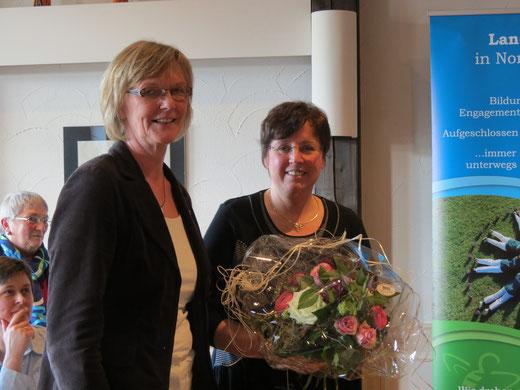 Zur neuen stellvertretenden Vorsitzenden Nord wurde Christel Hintz aus Ladelund gewählt.
