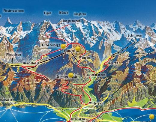 karte jungfrau region