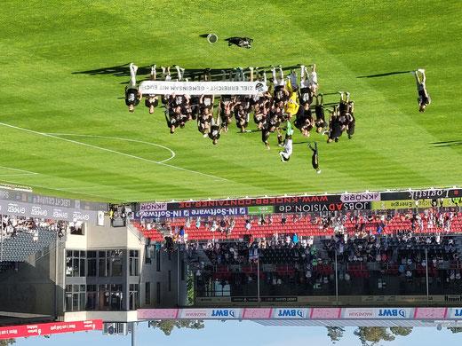 Fußball anno 2013 - alle(s) auf den Scheiterhaufen ! ( Pokalspiel SV Sandhausen - 1. FC Nürnberg, 4. August 2013 )