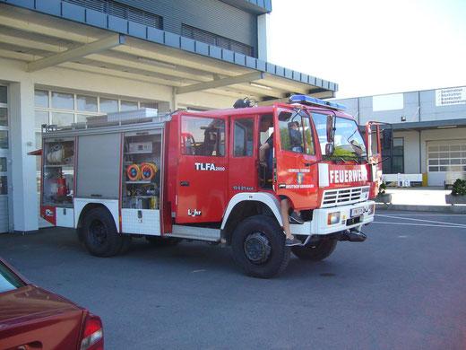 FF Deutsch Gerisdorf-Umbau auf TLFA 2000