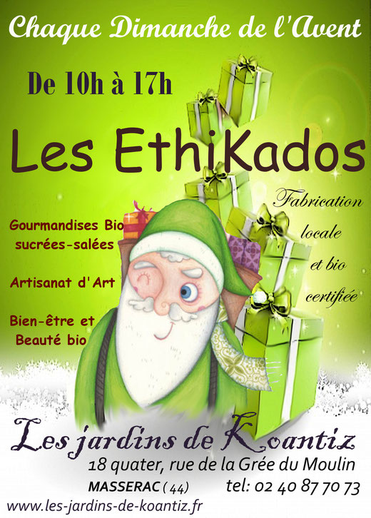 affiche des marchés de Noël