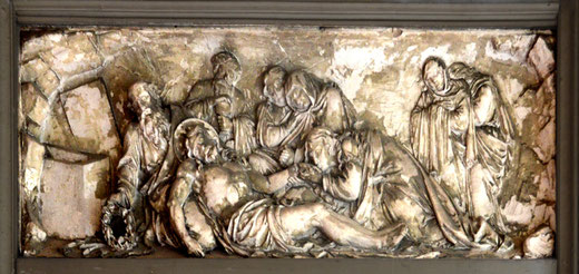 Une mise au tombeau , collection particulière)