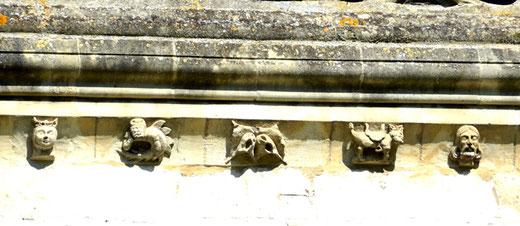 ...suite mascarons de l'église Saint-Gilles-Abbeville