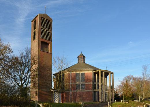 Eglise de Prouville- Architecte: Pierre Herdhebault