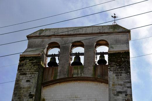 Flixecourt: le seul clocher à campenard avec trois cloches dans la Somme