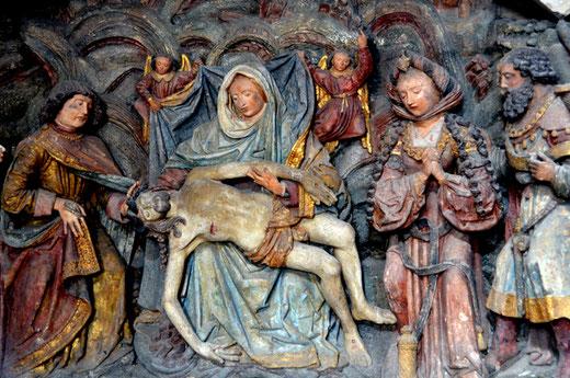 La Vierge de Pitié de l'église Saint-Jacques du Tréport