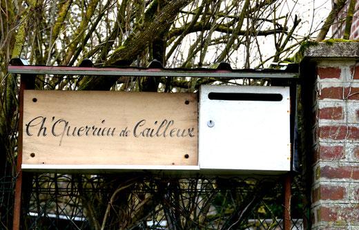 La boîte aux lettres picarde à Villers-sur-Mareuil: le charrieur de cailloux