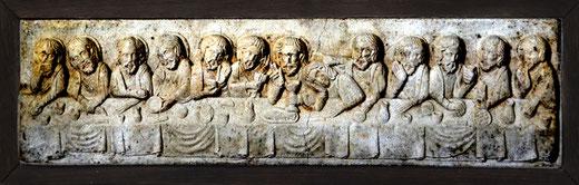 Tableau en pierre dans la Collégiale de Picquigny