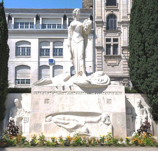 Le monument aux morts de Limoges: une oeuvre d'André Sallé