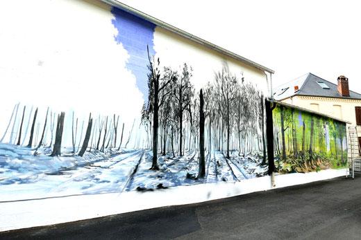Estréboeuf: les saisons- Photo: Bertrand Bourloton