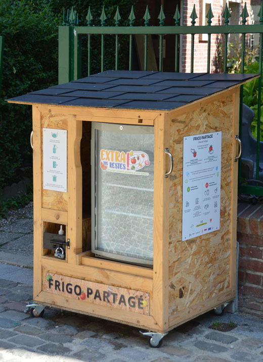 Amiens: on connait les bibliothèques partagées. Voici maintenant  un frigo.
