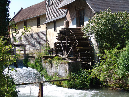 Le moulin à eau de Frémontiers