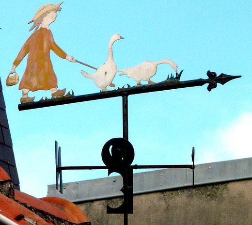 La gardienne d'oies à Cayeux-sur-Mer- Photo: Patrice Lenne