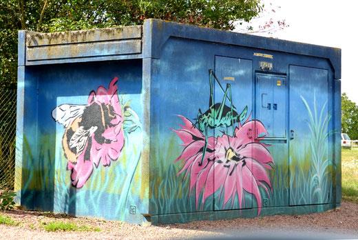 Mesnil-Saint-Nicaise: patrimoine éphémère pour une fresque EDF