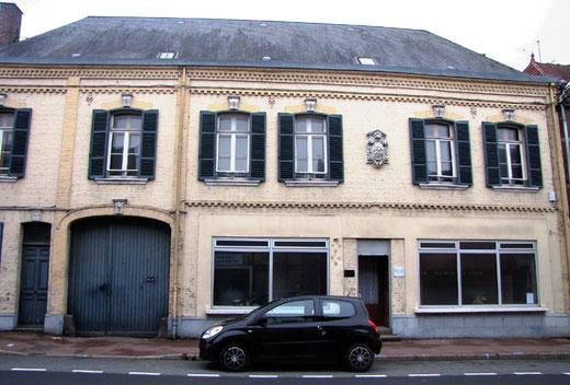 Flixecourt, maison située au 60 rue René Godard- Ph: Jacques Fouré