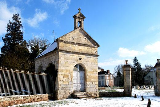 Conty- Chapelle du château de Luzières