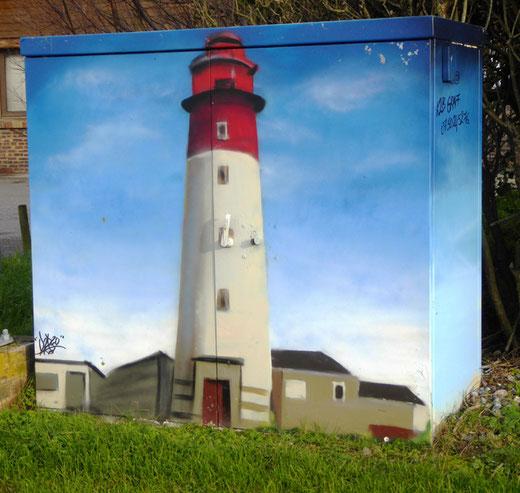 Le phare de Cayeux-sur-Mer