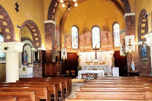 Le choeur de l'église Saint-Sulpice de Fresnoy-les-Roye