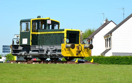 Longueau: engin ferroviaire utilisé pour la manoeuvre des wagons