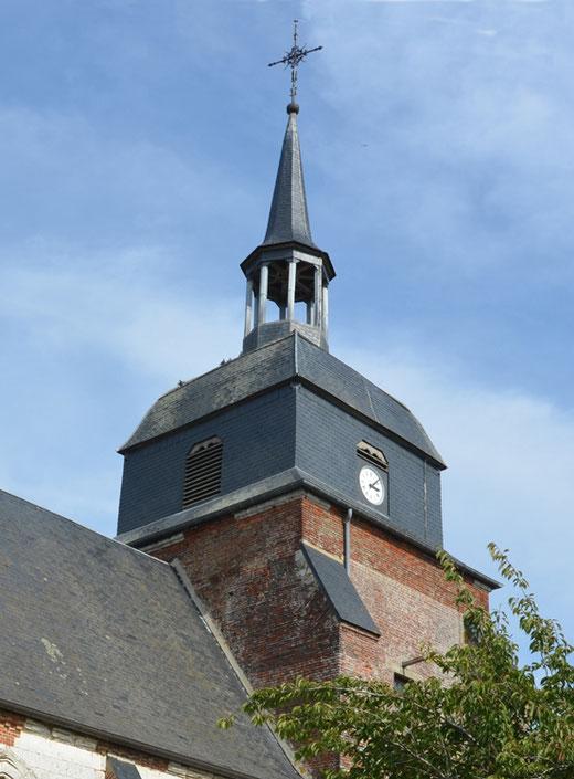 Clocher de l'église d'Acheux-en-Vimeu