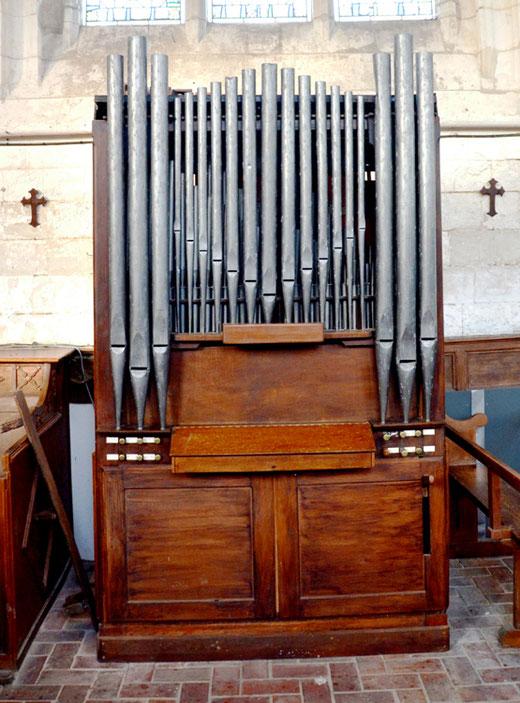 Les orgues de l'église d'Allery