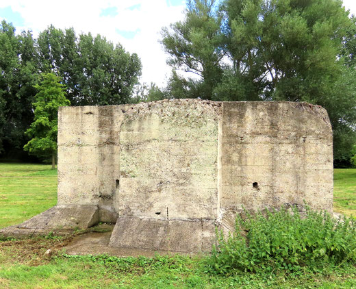 Bunker à Ailly-sur-Somme- Photo: Jacques Fouré