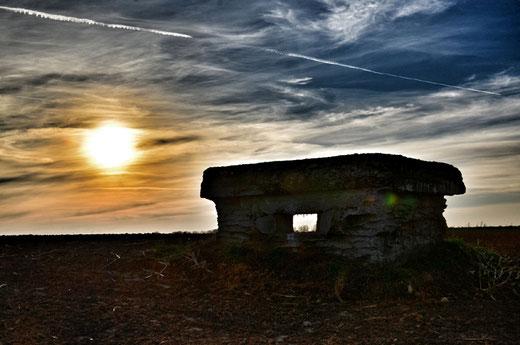 Le bunker d'Auchonvillers