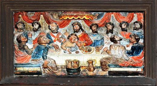 La Cène dans l'église de Revelles