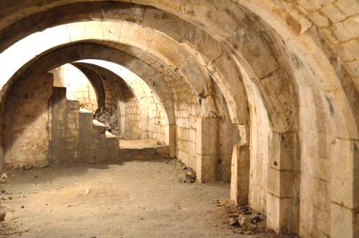 La crypte de Picquigny